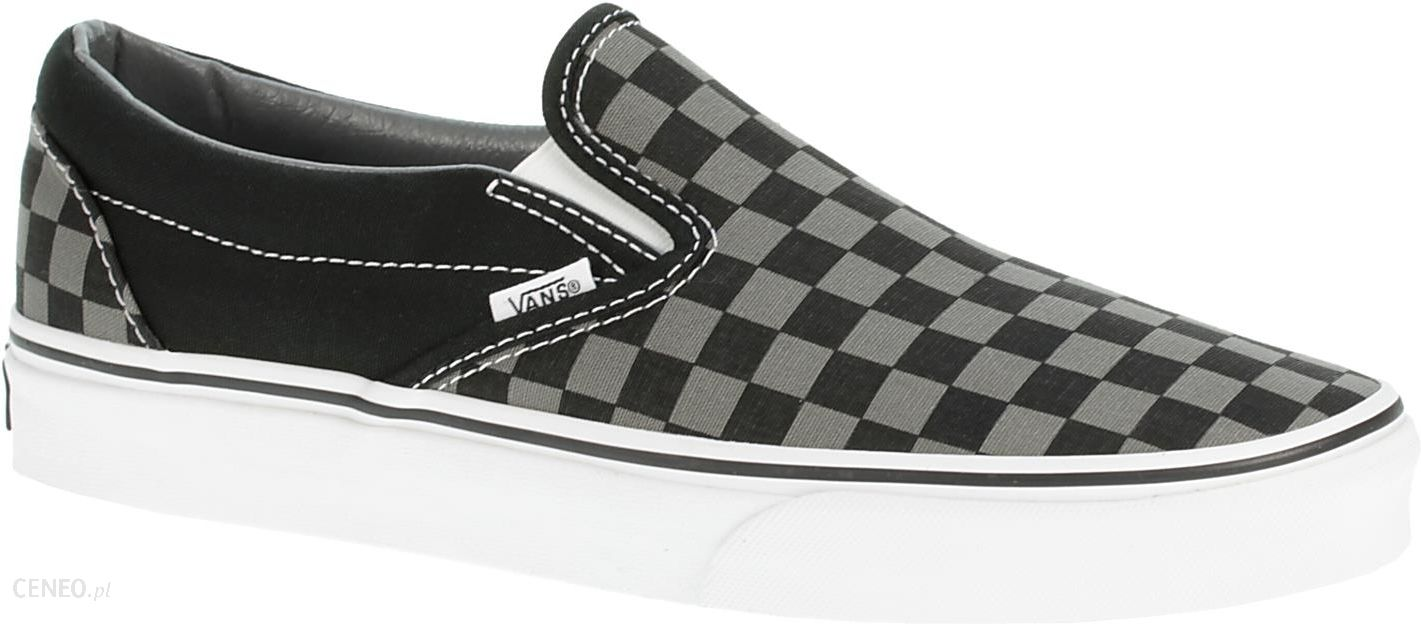 Vans Buty Classic Slipon Black Pewter Checkerboard Ceny i opinie Ceneo.pl