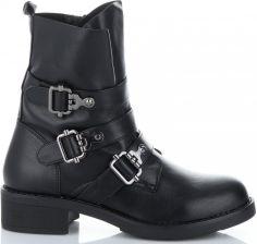 0fc73fa0e8e1c Uniwersalne Botki Damskie firmowe i modne buty damskie marki Lady Glory  Czarne (kolory) ...