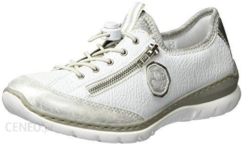 Amazon Rieker damskie buty sportowe L3263 biały 39 eu Ceneo.pl