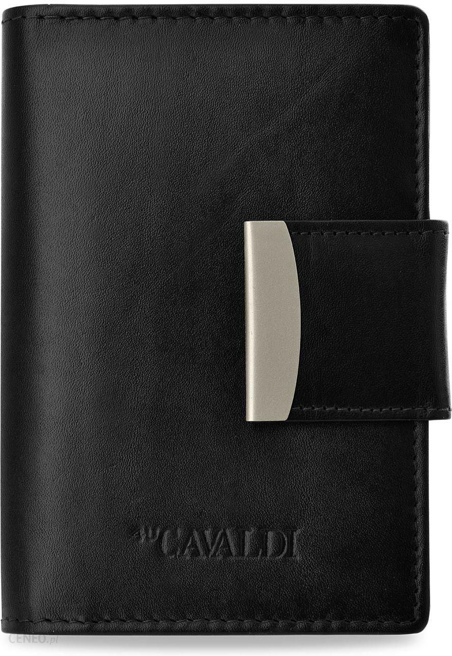 099762dfc34a4 Klasyczny damski portfel cavaldi skóra naturalna - czarny - Ceny i ...