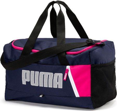 d6238d9acf583 Torba PUMA - Fundamentals Sports Bag Xs 073501 14 Dark Purple - Ceny ...