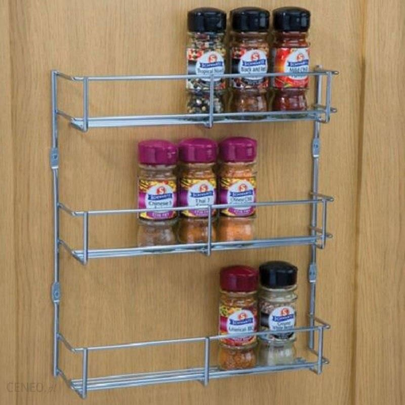 Aliexpress Yontree 1 Sztuka Przyprawy Półki żelaza Spice Rack Wielofunkcyjne Przechowywania Kuchnia Gąbka Uchwyt łatwy W Instalacji H5133 Ceneopl
