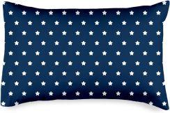 4home Poszewka Na Poduszkę Stars Navy Blue 50x70 Cm 50x70 Cm