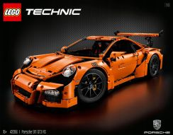 Produkt z Outletu: Lego Technic 42056 Porsche 911 GT3 Rs Ceny i opinie Ceneo.pl