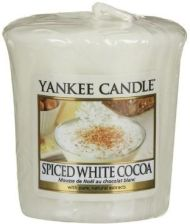 Yankee Candle Świeca Spiced White Cocoa 15h 50g