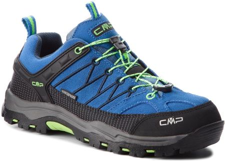 Trekkingi CMP - Kids Rigel Low Trekking Shoes Wp 3Q13244J  Royal/Frog