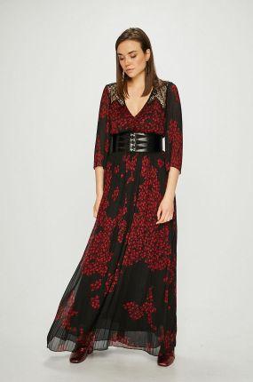 2a4b6baba5 Rozkloszowana sukienka plus size na wesele 46 - Ceny i opinie - Ceneo.pl