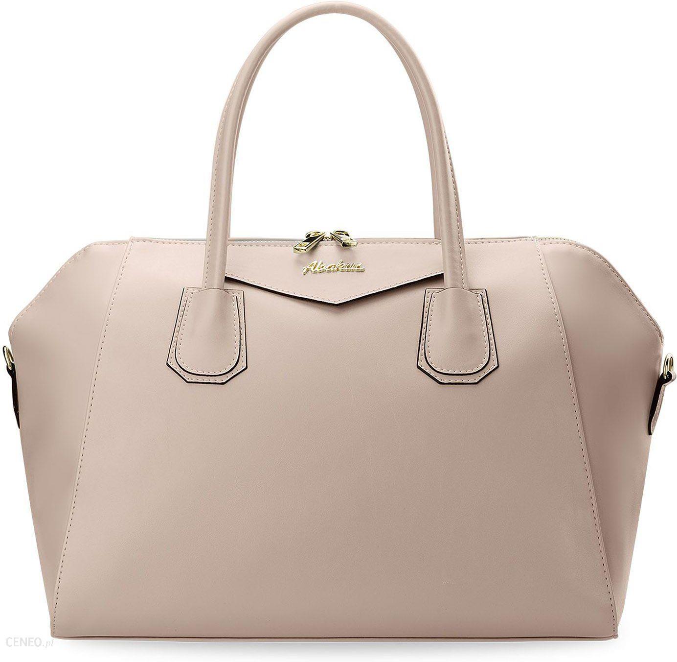 b432900d71e57 Kuferek damski torebka abakus polska marka światowy styl - pudrowy róż -  zdjęcie 1