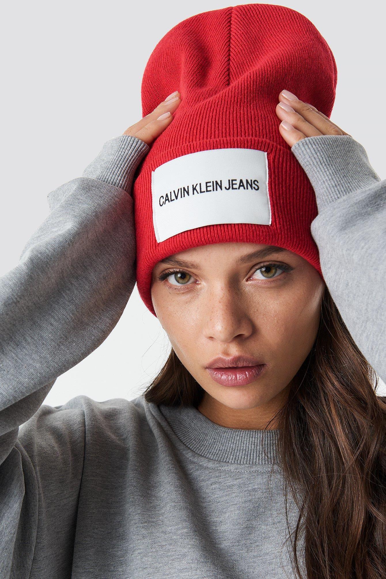 NA-KD J Calvin Klein Jeans Beanie W - Ceny i opinie - Ceneo.pl e4f175a38dc