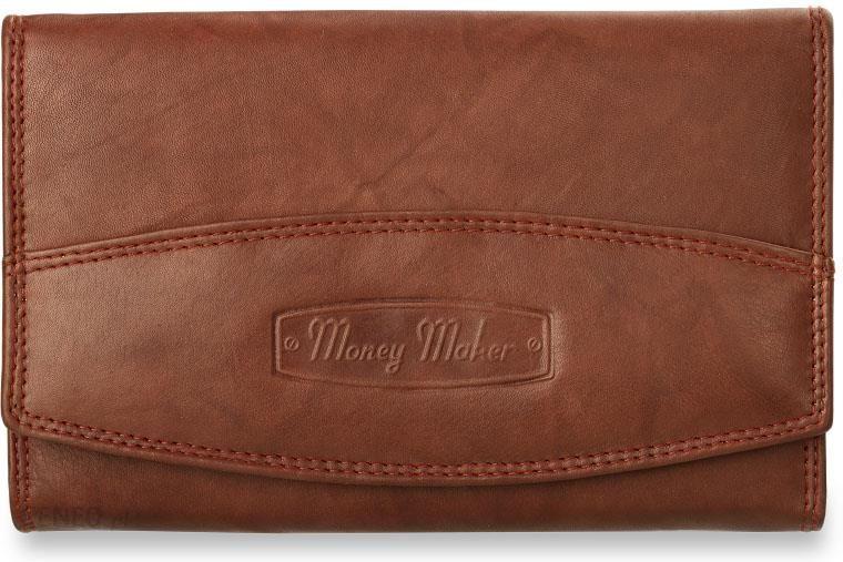 af4fb85593563 Damski portfel money maker- niemiecki- 100% skóra - rdzawy - Ceny i ...