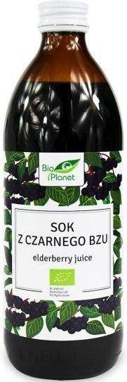 Bio Planet Sok Z Czarnego Bzu Bio 500ml Ceny I Opinie Ceneo Pl