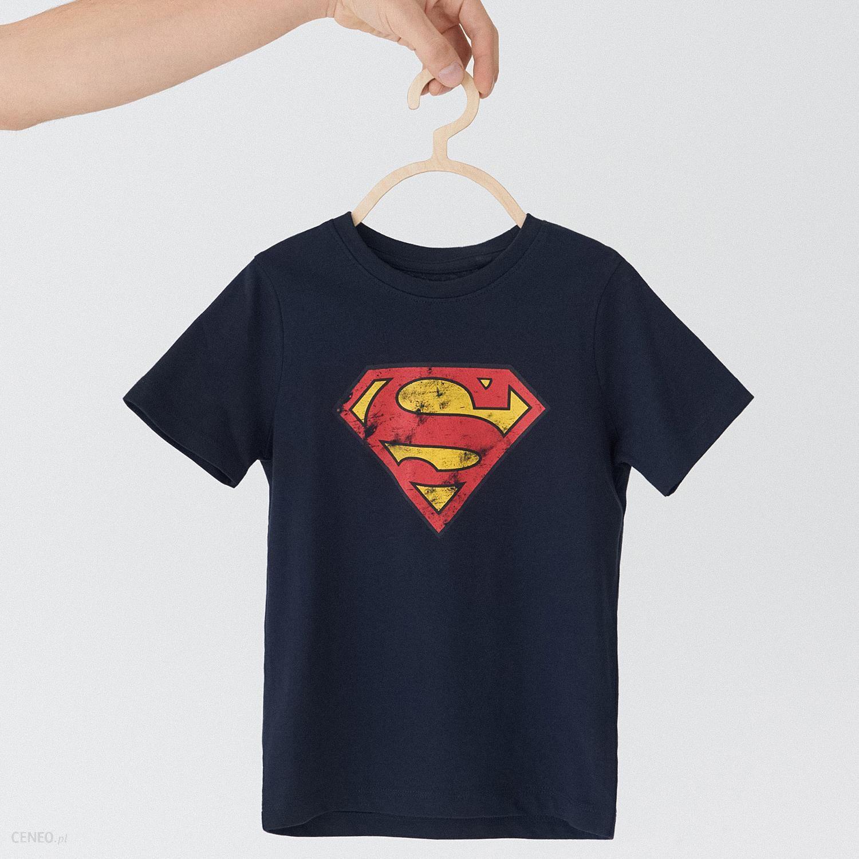 49c63a38d9e8b4 House - Dziecięcy t-shirt Superman - Granatowy - Ceny i opinie ...