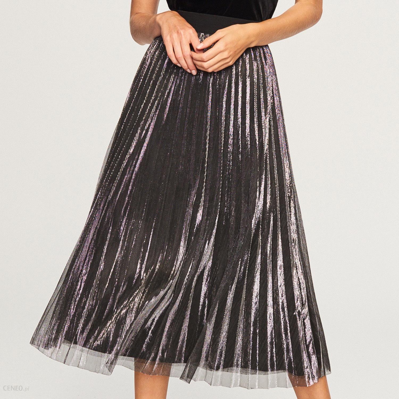 spódnica z plisowanego tiulu