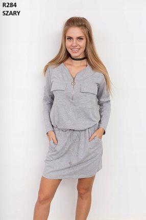 7dd6736493 Iconique Luksusowa włoska sukienka plażowa z kolekcji Iconique 641KA ...