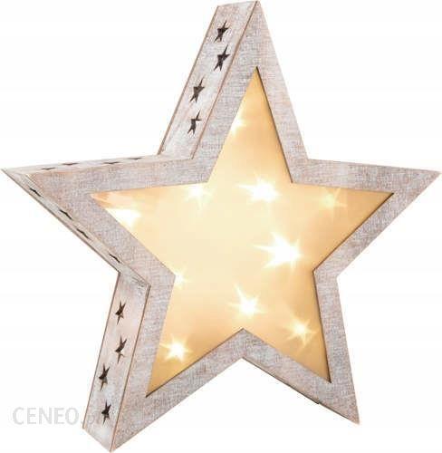 Gwiazda Z Oświetleniem Led W Stylu Shabby Chic Opinie I Atrakcyjne Ceny Na Ceneopl