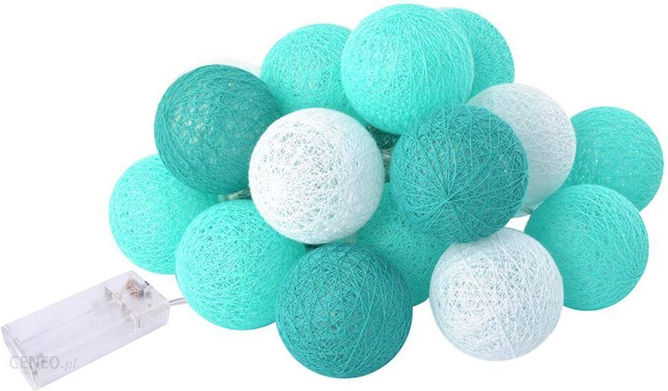 Cotton Balls świecące Kule Lampki 20 Kul Led Ball