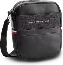 ec206ced9a386 Saszetka TOMMY HILFIGER - Th Business Mini Reporter AM0AM04258 002 eobuwie