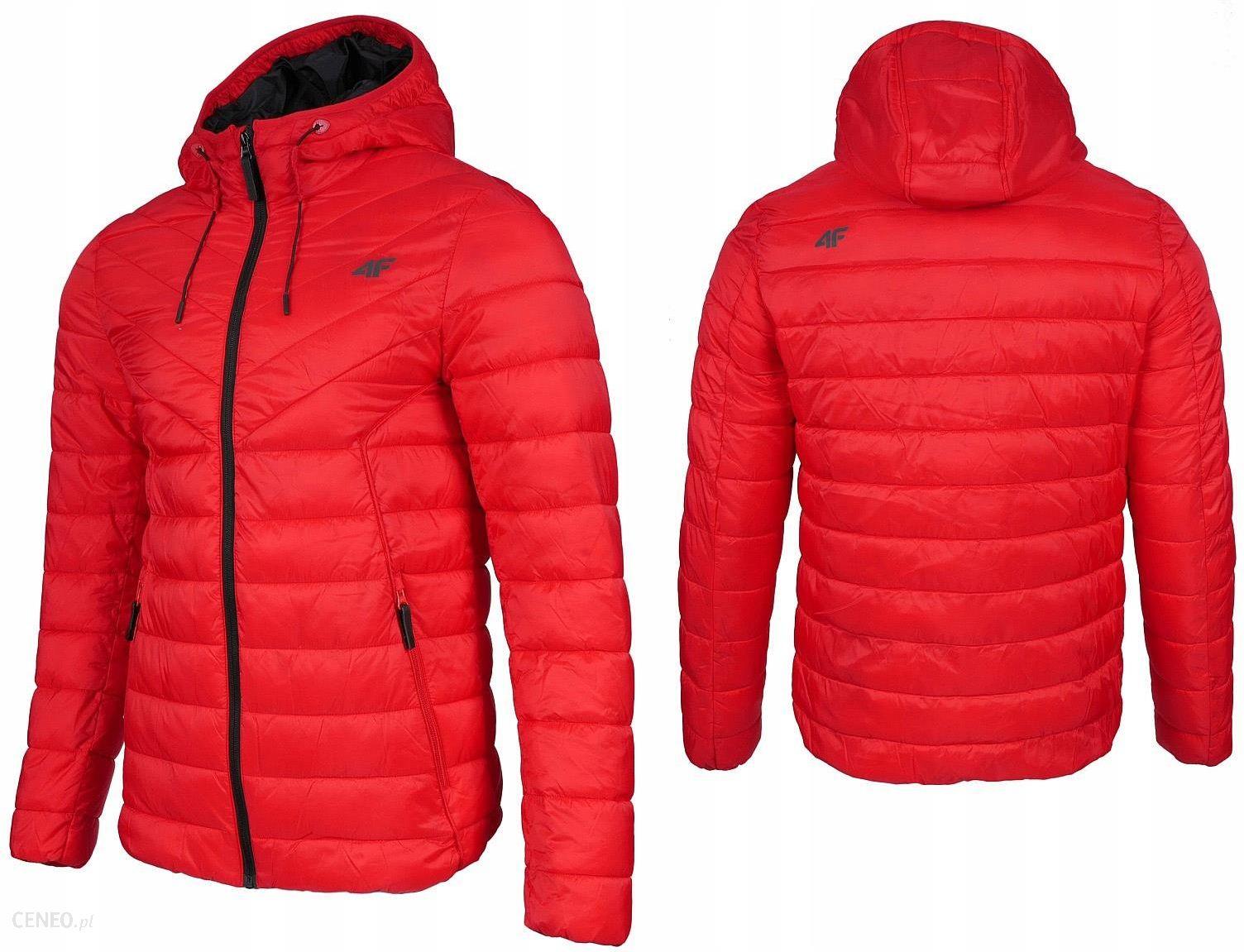 4f kurtka męska zimowa puchowa pikowana