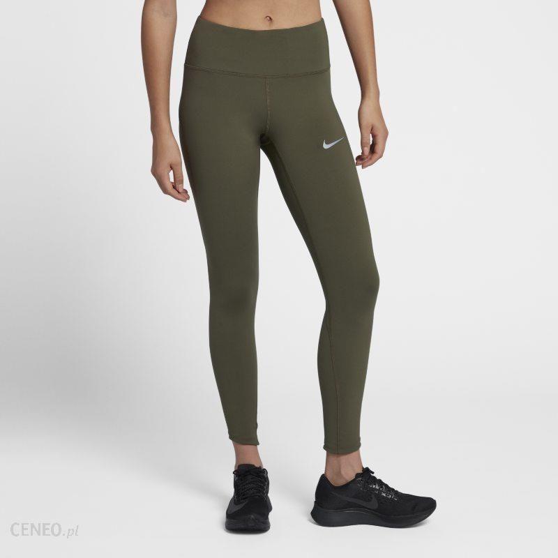 497a3238 Damskie legginsy do biegania 7/8 z wysokim stanem Nike Epic Lux - Zieleń -