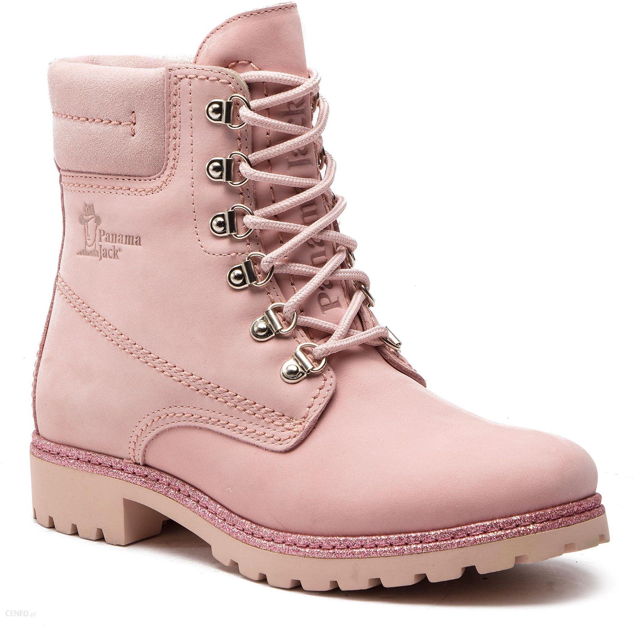 8dfbb6adacd Trapery PANAMA JACK - Panama 03 Glitter B1 Nubuck Rosa Pink - Ceny i ...