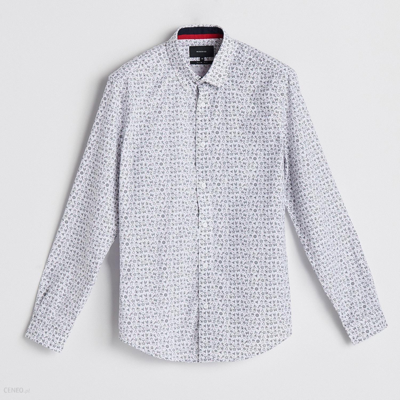 41406bff7a2d Reserved - Koszula z motywem świątecznym - Biały - Ceny i opinie ...