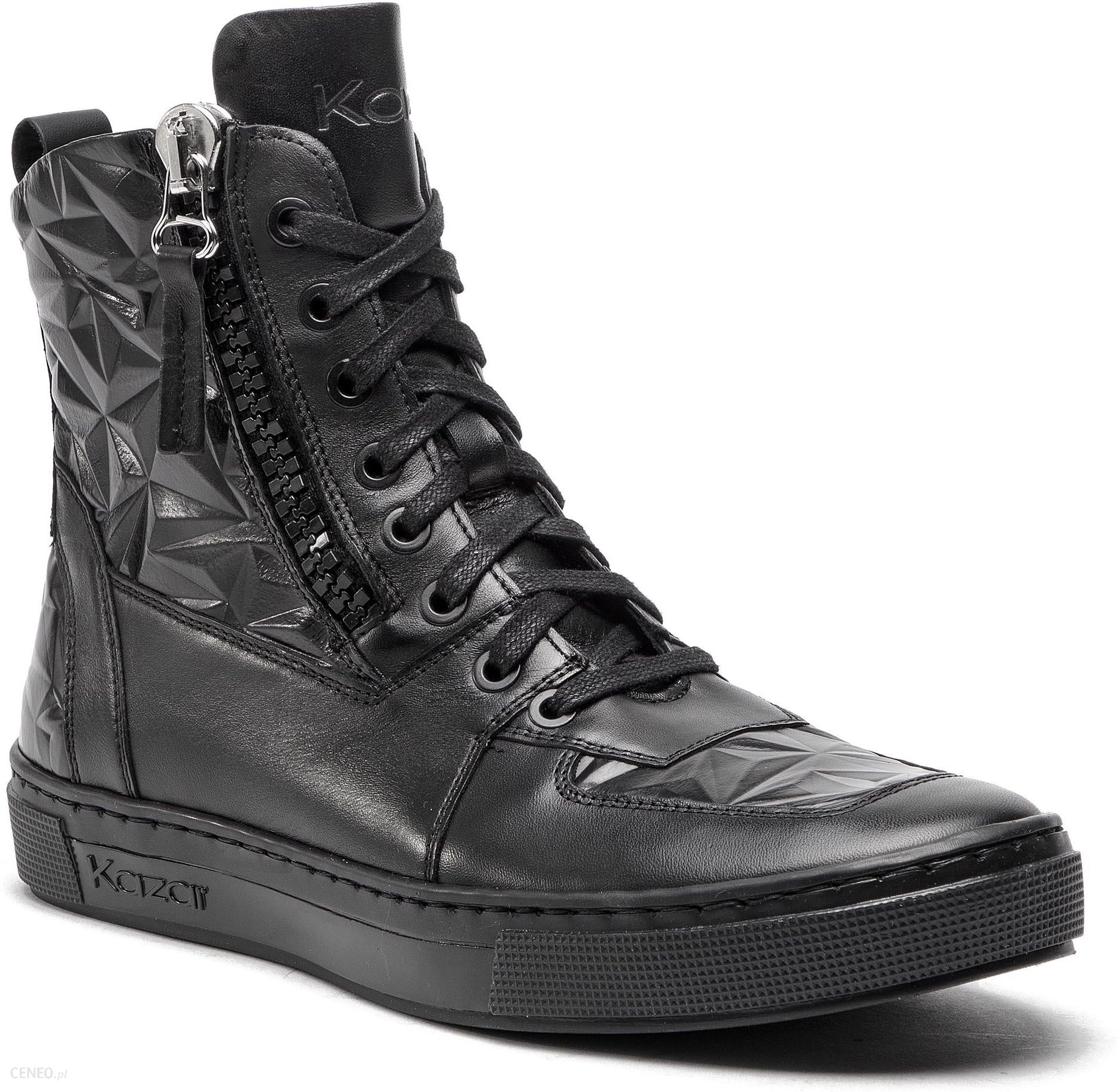 1be19393 Sneakersy KAZAR - Jens 36595-16-00 Czarny - Ceny i opinie - Ceneo.pl