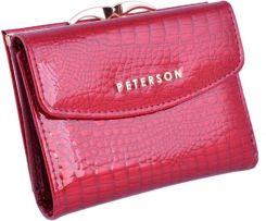 d1ff4bbe88756 Portfel damski PETERSON AE-401 czerwony
