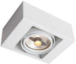Outlet dla domu Produkt z Outletu: Lampa sufitowa plafon UTO oprawa natynkowa kostka cube box szary Shilo 1143GU10SZ Ceny i opinie Ceneo.pl