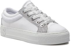 e8c1947693fe6 Sneakersy GUESS - FL5LY5 FAB12 WHITE eobuwie