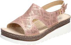 1a777c843dec0 Złote sandały, buty damskie SABATINA 17603