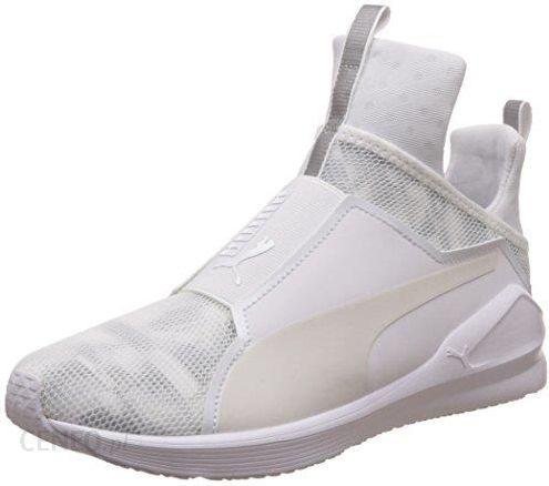Puma defy trainers in white White Buty sportowe damskie białe w Asos