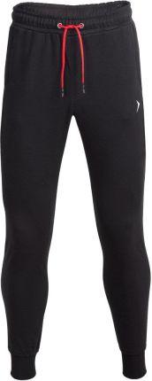 a4a3ed91c5f186 Outhorn Spodnie dresowe męskie SPMD601 - głęboka czerń