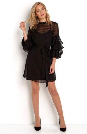 Happy Holly Sukienka Gabriella dress - czarny cellbes bfd39a4bd8203