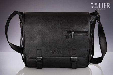 e021495c3bee8 Brązowa casual torba męska na ramię Solier S12 - Brązowy - Ceny i ...