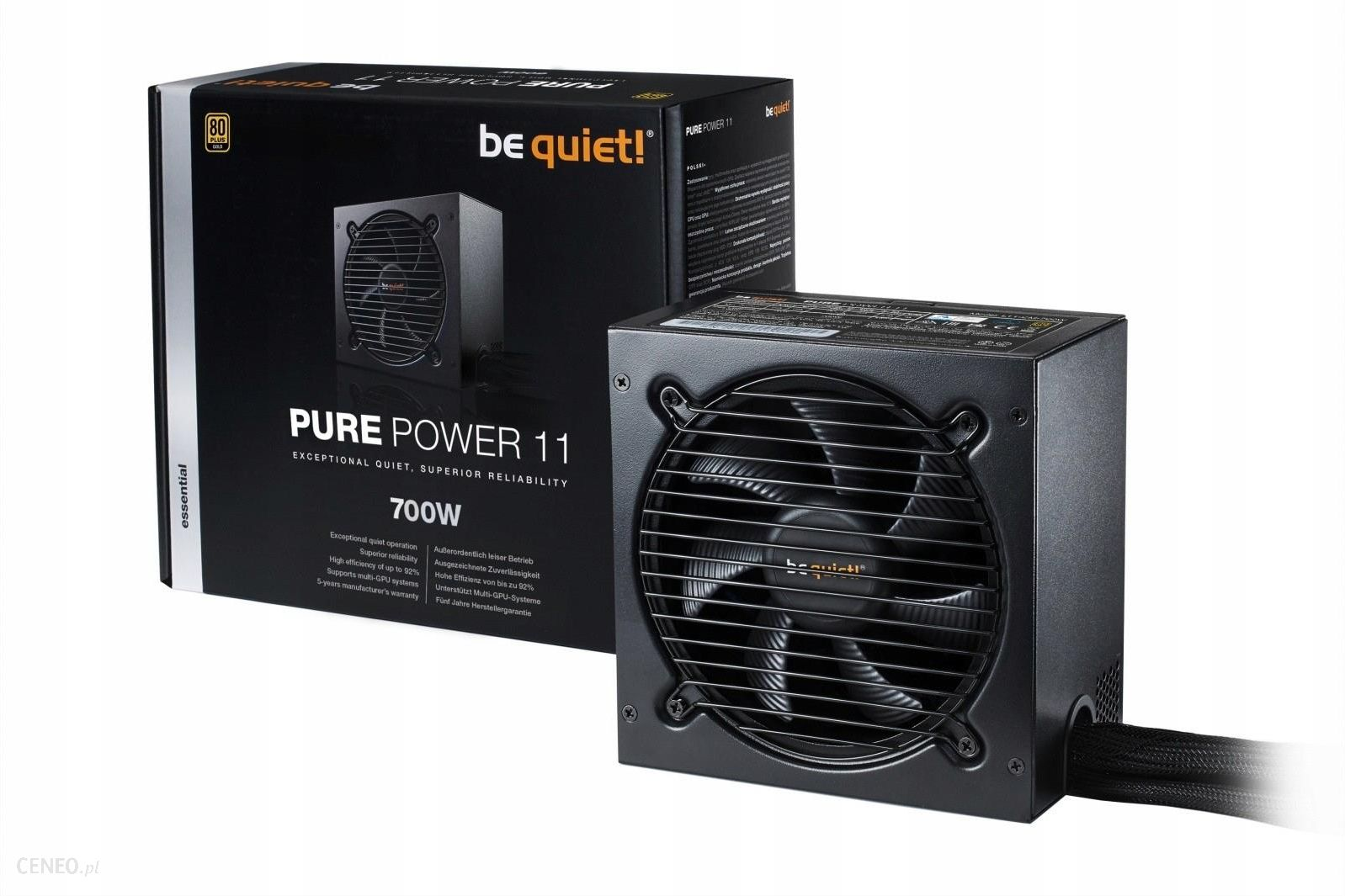 Be Quiet Pure Power 11 700W Atx Bn295
