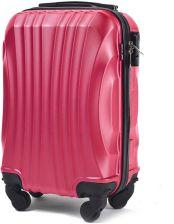 525f059f48fa5 Mała kabinowa walizka KEMER 159 XS Różowa - Różowy