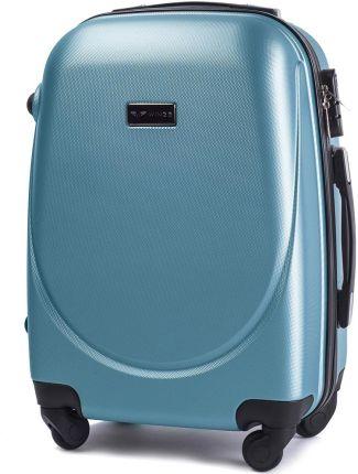 47681897a53de Mała kabinowa walizka KEMER 310 S Metaliczny Niebieski - metaliczny  niebieski