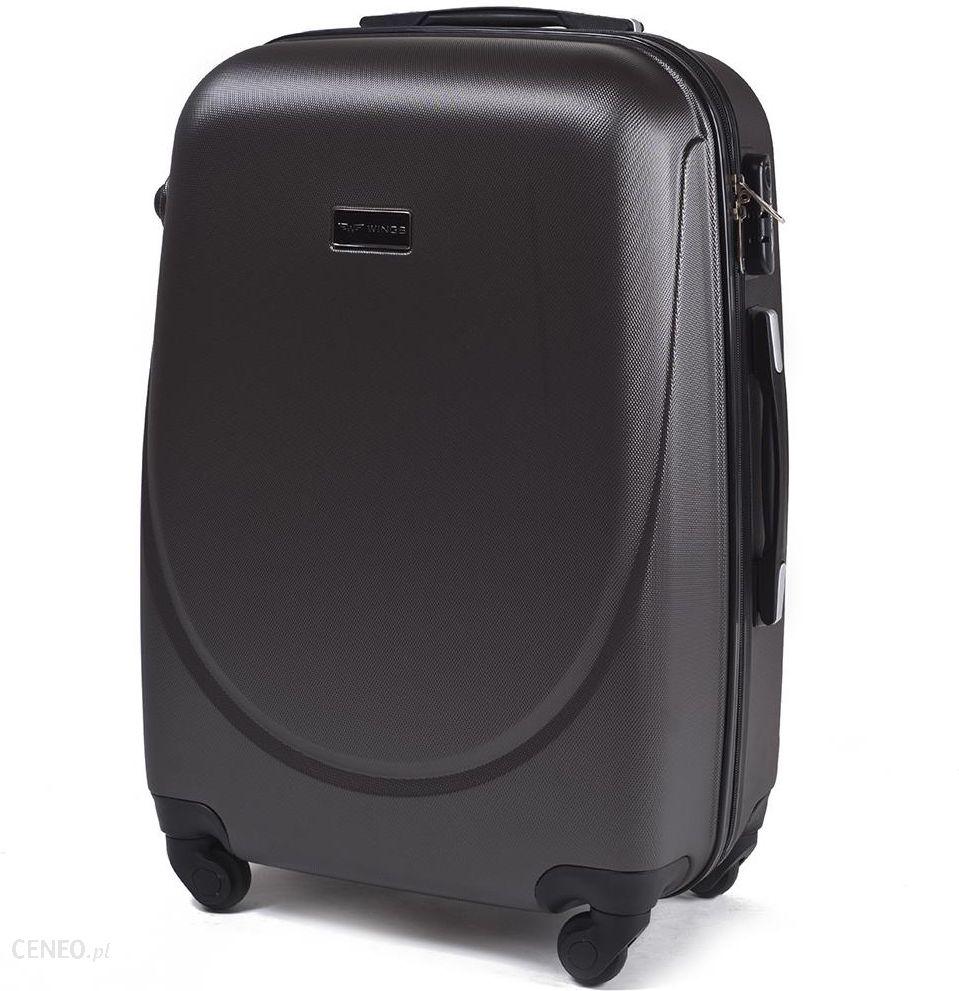d6a3ab69861df Średnia walizka KEMER 310 M Szara - Szary - Ceny i opinie - Ceneo.pl