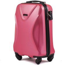 8d5c97abd1aab Mała kabinowa walizka KEMER 518 S Różowa - Różowy