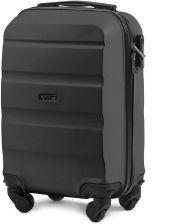 ac4fb5d427d0a Bardzo mała kabinowa walizka KEMER AT01 XS Szara - Szary