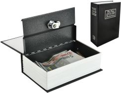 Sejf kasetka ukryta w książce na zamek 18cmx11,5cm