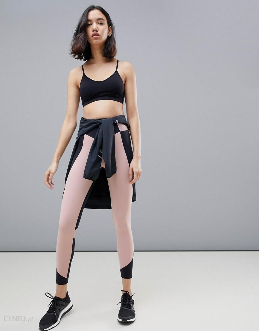 riesiges Inventar Top Design online zu verkaufen Oysho colourblock full length leggings in multi - Multi - Ceneo.pl
