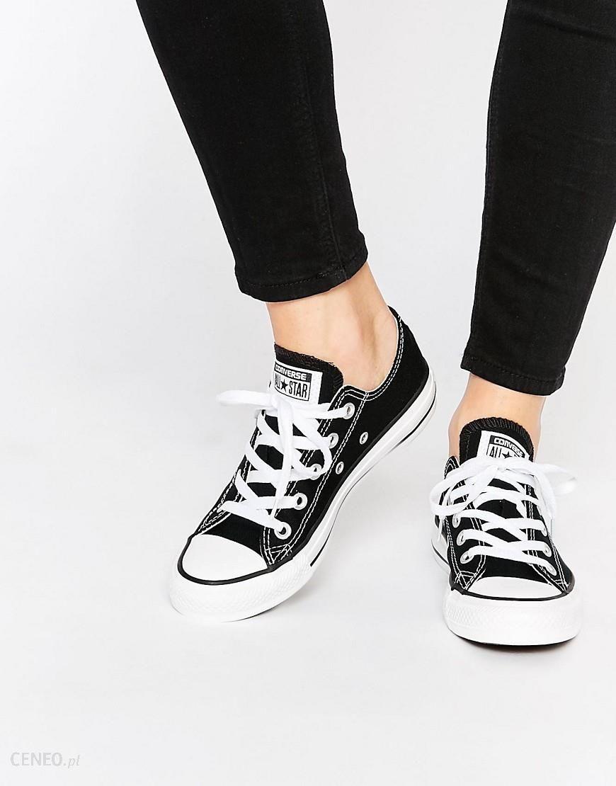 buty do separacji sklep w Wielkiej Brytanii Nowy Jork Converse Chuck Taylor All Star Core Black Ox Trainers - Black - Ceneo.pl