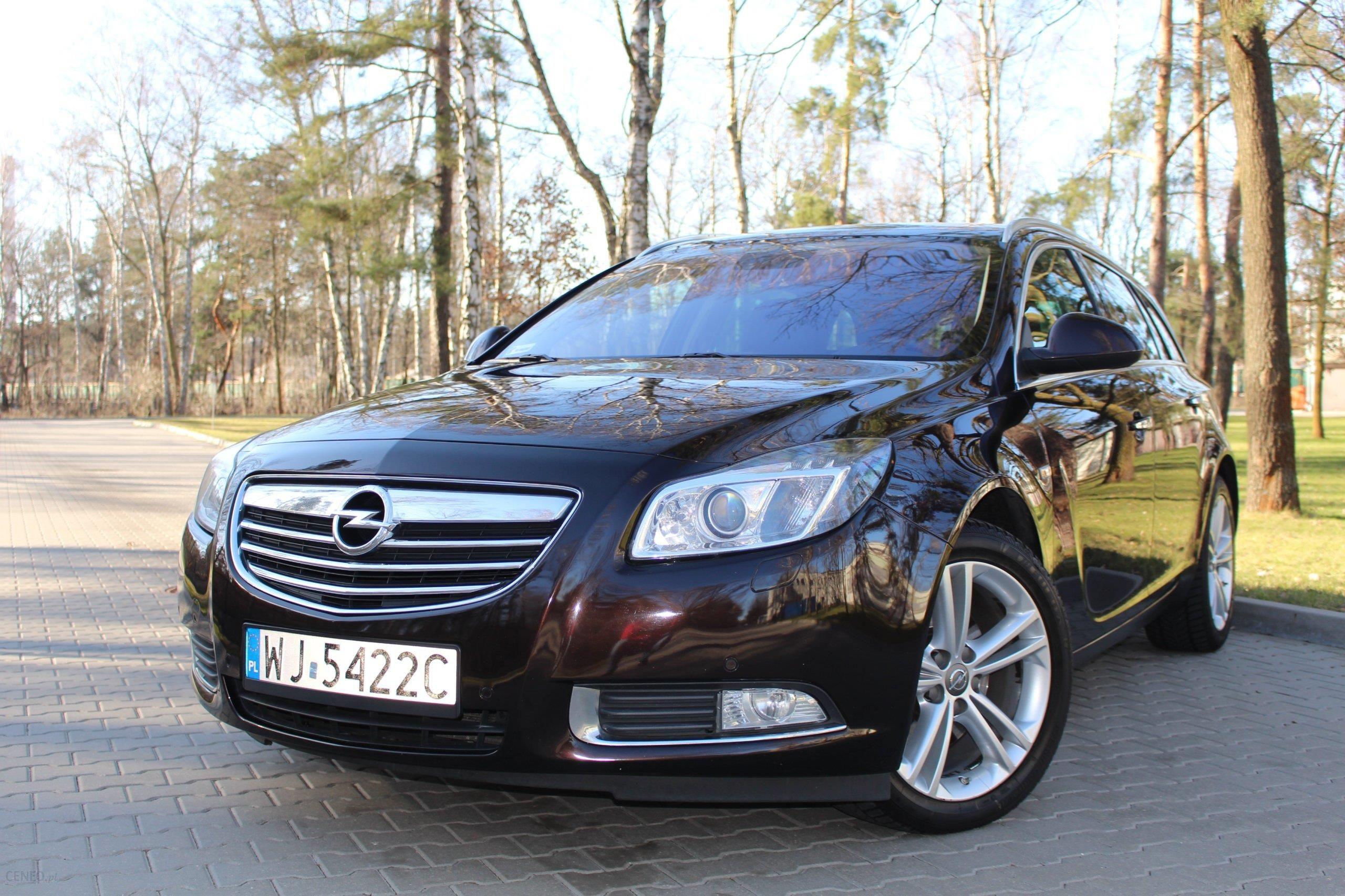 Opel Insignia 2 0 Cdti Sports Tourer Sw 2011 Opinie I Ceny Na Ceneo Pl