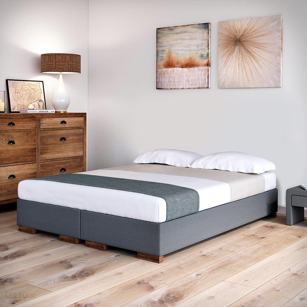 Senpo Rama łóżka Kontynentalnego 120x200 Grupa 3 Z Pojemnikiem Dąb Olej