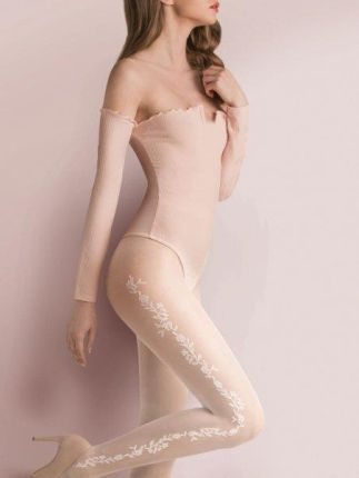 7c517475 GATTA Rajstopy damskie Silver Chic 40 DEN 3D Comfort Melange nero r ...
