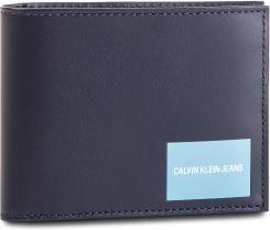 e4058d5d26b96 Duży Portfel Męski CALVIN KLEIN JEANS - Coated Canvas Billfold W Coin  K40K400836 449 eobuwie