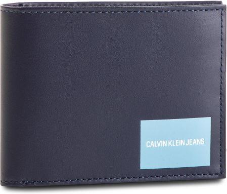 5009b1bd517d1 Duży Portfel Męski CALVIN KLEIN JEANS - Coated Canvas Billfold W Coin  K40K400836 449 eobuwie