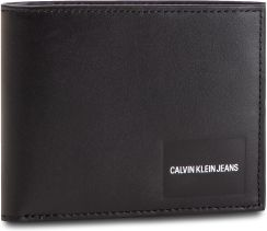 33502d6d748eb Duży Portfel Męski CALVIN KLEIN JEANS - Coated Canvas Billfold W Coin  K40K400836 001 eobuwie