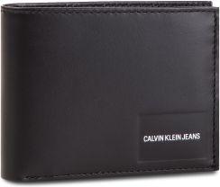 6b7901705708f Duży Portfel Męski CALVIN KLEIN JEANS - Coated Canvas Bilfold Coin Pass  K40K400831 001 - zdjęcie